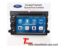 Ford Escape/Freestyle/Taurus/Five hundred Car DVD GPS Radio camera