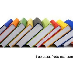 hardcover book printing services in USA