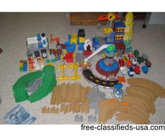 3-4 sets of GeoTrax