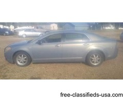 2008 Chevy Malibu (blue)