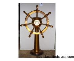 Antique Bronze SHIP'S STEERING HELM