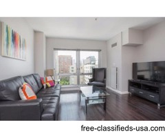 Furnished 1BR Apartment in Boston Harbor View
