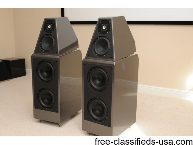 wilson audio watt puppy 8 stereo home theater speakers set musical rh free classifieds usa com Goldmund Audio Wilson Audio Sasha Review