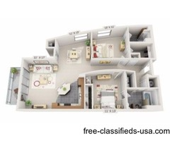 2 Bedroom-D-Lofts at the Highlands