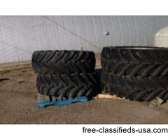 Tractor Tires w/rims