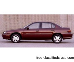 CHEVY MALIBU 2003 (red)