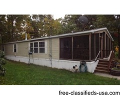 Newer 2 Bedroom Mobile Home In 55+ Community