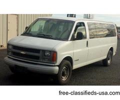 2002 Chevrolet 3500 15 Passenger Van