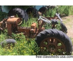 2 Fordson tractors for sale or parts