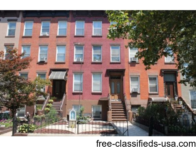 Large 4 Family Brownstone First Time on Market | free-classifieds-usa.com