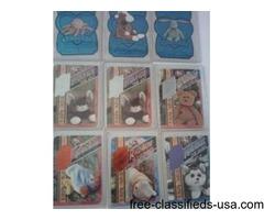 BEANIE BABIE TRADING CARDS