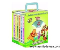 Disney Winnie the Pooh Healthy Kids Exercise 6- books