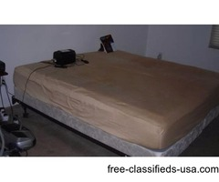 Advanced Comfort Air Mattress + Boxspring