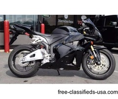 2012 Honda CBR600 RR! ONE OWNER Clean Carfax