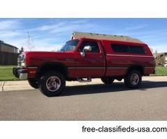 1991 Dodge W250