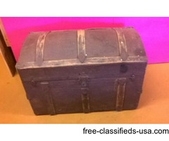 victorian steamer trunk