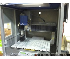 Roland MDX-650a cnc milling machine 4th axis and atc