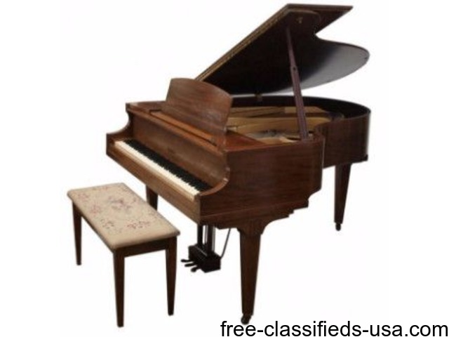 Petite baby grand piano musical instruments king of for Smallest baby grand piano dimensions
