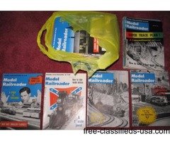 railroad magazines, yrs 1960-67.