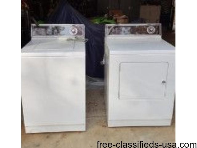 Maytag Washer and Dryer | free-classifieds-usa.com