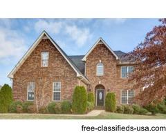 Beautiful 5 Bedroom Home For Sale In Murfreesboro