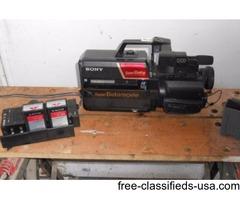 Betamax Camera, acsessories/player recorders