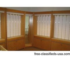 Opticians glasses display case