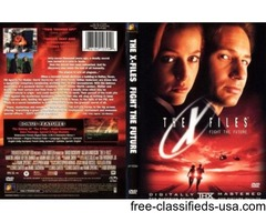 i have XFILES - FIGHT THE FUTURE DVD FOR SALE