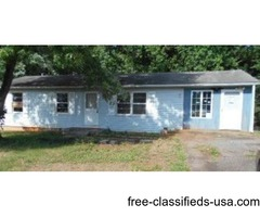Single Family Home Only $12,900