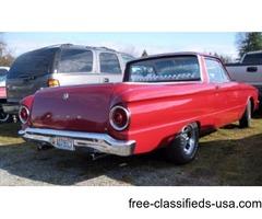 Ford Ranchero 1962 v6 170cc crate motor