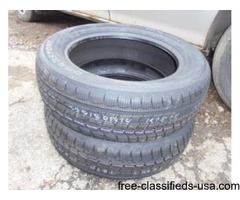 NEW P195x65-R15 WinterTread Tires