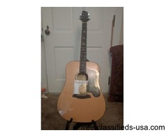 SAWTOOTH ACOUSTIC GUITAR