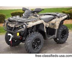 NEW 2015 Can-Am Outlander XT 800R ATV in Camo