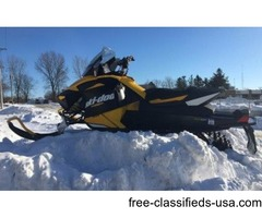 NICE 2012 Ski-Doo MX Z TNT 800R Snowmobile in Black now