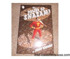 The POWER OF SHAZAM! Hardcover Graphic Novel GEM/MINT