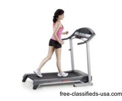 Weslo folding treadmill