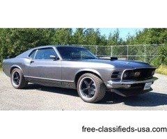 1970 Ford Mustang Restomod Coupe For Sale
