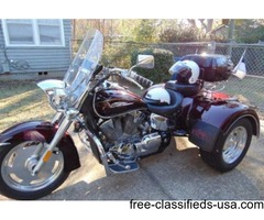 For Sale: 2007 Honda VTX-1300R Trike