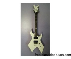 White BC Rich Revenge Guitar