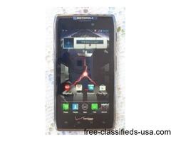 Motorola Droid Razr Maxx XT912 Verizon + Page Plus 16GB Black