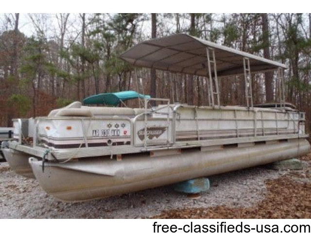 1992 Suncruiser 25ft with 60hp Johnson. No Trailer. | free-classifieds-usa.com
