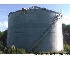 30,000 bushels grain bin