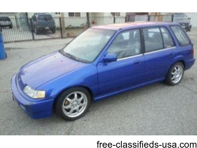 1990 Honda Civic Wagon Runs Great Cars Pomona California