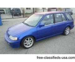 1990 Honda Civic Wagon Runs Great