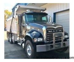 2011 Mack Granite Dump Truck For Sale in Monroe