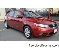 2010 Kia Forte EX 4dr Sedan 4A! Certified! ONLY 111K MILES
