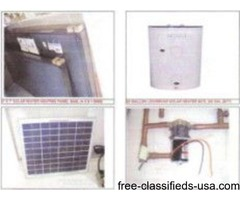 SOLAR WATER HEATING SYSTEMS INFORMATION AND PARTS
