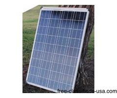 TWO SOLAR PANELS $1.50 PER WATT, 100 WATT 240 WATTS