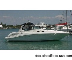 2004, 34' SEA RAY 340 SUNDANCER