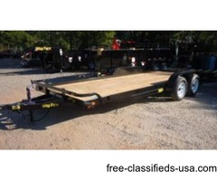 2016 Big Tex Tandem Axle Car Hauler 7'x20' (09709)